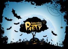 Fond de partie de Halloween Photo libre de droits