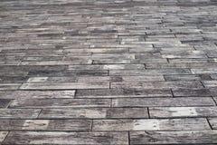 Fond de passage couvert de bloc de ciment Photo libre de droits