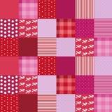 Fond de patchwork Image libre de droits
