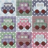 Fond de patchwork Image stock