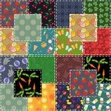 Fond de patchwork Photo libre de droits