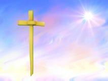 Fond de paume dimanche ou de Pâques Images libres de droits