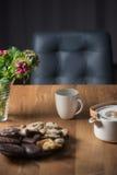 Fond de pause café images libres de droits
