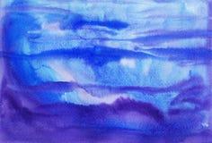 Fond de peinture d'aquarelle illustration de vecteur