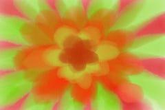 Fond de peinture de fleur Image libre de droits