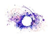 Fond de peinture de jet abstraite Image libre de droits