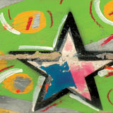 Fond de peinture de texture Image libre de droits