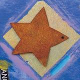 Fond de peinture de texture Photos stock