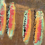 Fond de peinture de texture Photo stock