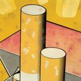 Fond de peinture de texture Image stock