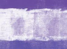 Fond de peinture roulé par violette Images stock