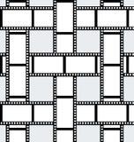 Fond de pellicule cinématographique Photographie stock libre de droits