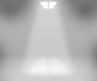 Fond de pièce blanche de projecteur Image libre de droits