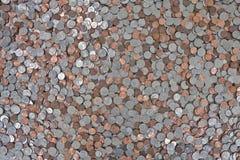 Fond de pièce de monnaie des USA photographie stock