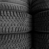 Fond de pile de pneu Images stock