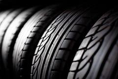 Fond de pile de pneu Photos stock
