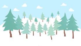 Fond de pin Photo libre de droits