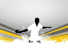 Fond de ping-pong Image stock
