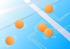 Fond de ping-pong Photographie stock libre de droits