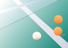 Fond de ping-pong Photo stock