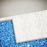 Fond de piscine Photo libre de droits