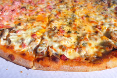 Fond de pizza Images libres de droits