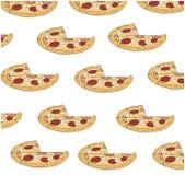 Fond de pizza Illustration de vecteur Image stock