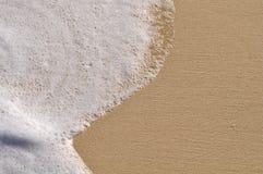 Fond de plage avec le sable Photo stock
