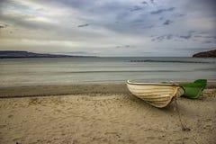 Fond de plage de mer Photo stock