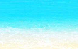 Fond de plage sablonneuse Photographie stock libre de droits