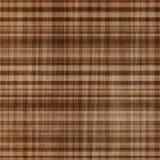 Fond de plaid de Brown Photo stock