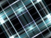 Fond de plaid de noir bleu Images libres de droits