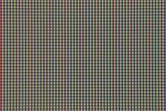 Fond de plan rapproché de détail de pixel de couleur de TV macro images libres de droits