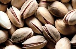 Fond de plan rapproché de pistache Image libre de droits