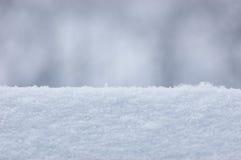 Fond de plan rapproché de texture de neige Photographie stock libre de droits
