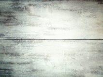 fond de planche en bois blanche peinte minable Photos stock