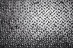 Fond de plaque d'acier de diamant Image libre de droits