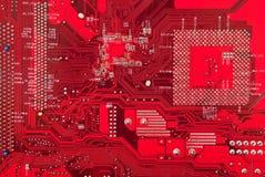 Fond de plaque de circuit électronique Photo stock