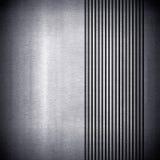 Fond de plaque métallique avec la piste Images libres de droits