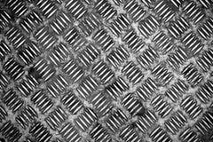 Fond de plaque métallique de diamant Images stock