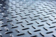 Fond de plat de diamant en métal Image stock