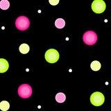 Fond de point de polka Image libre de droits