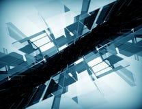 Fond de pointe abstrait Image libre de droits