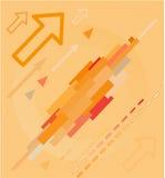 Fond de pointe abstrait Images libres de droits