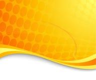 Fond de pointe abstrait orange Images stock
