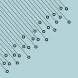Fond de pointe abstrait sur le bleu, illustration courante de vecteur illustration libre de droits