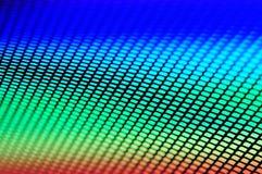 Fond de pointe multicolore et gril photographie stock libre de droits