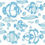 fond de poissons Images stock