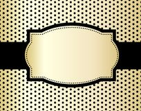 Fond de polka Image stock