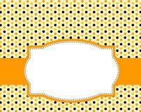Fond de polka de Veille de la toussaint Photo stock